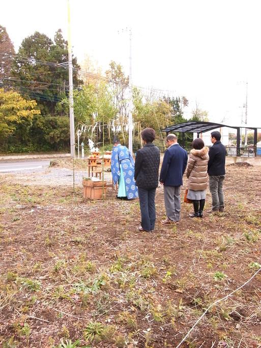 HNさんの家 地鎮祭 2012/11/24_a0039934_172922100.jpg