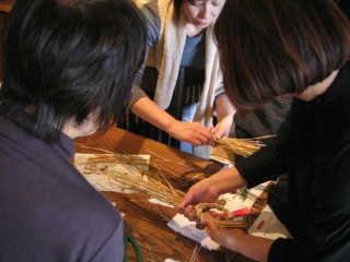広島でお正月飾り教室 _c0121339_103748.jpg