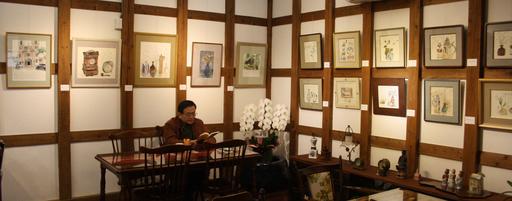 涼蔵さんの『瀧澤徳・詩画展』とみなとぴあ・会津八一記念館の『若冲・応挙の至宝展』を見てきた_d0178448_6101470.jpg