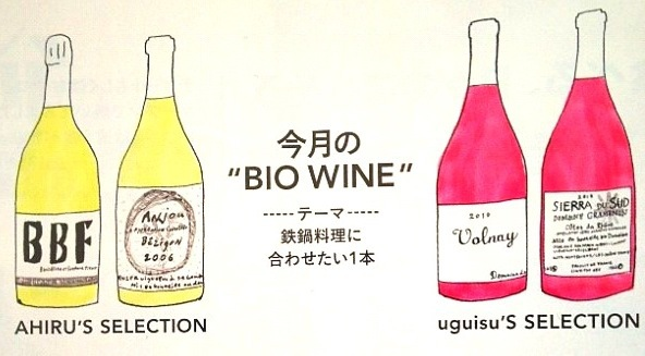 GINZA12月号「ウグイスアヒルのビオトーク」挿絵です。_b0126653_27624.jpg