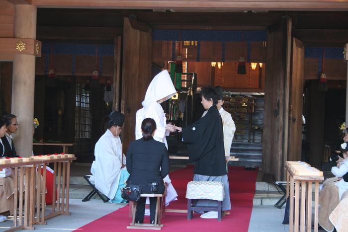 結婚指輪 護国神社_b0220167_2253669.jpg