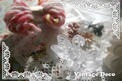 Vintage Decoで可愛〜い資材をゲット*_a0139874_9371072.jpg