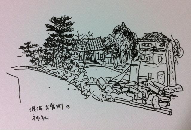 渡波大宮町の神社_f0072976_23134933.jpg