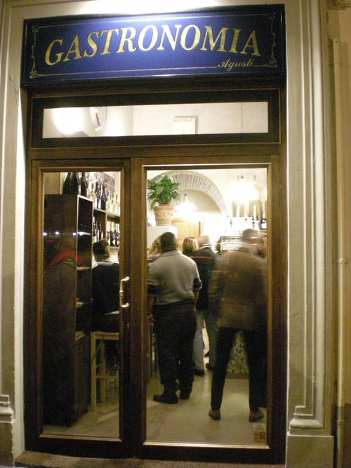 ヴェネッチアの居酒屋スタイルをここフィレンツェで楽しめるお店_c0179785_1639522.jpg