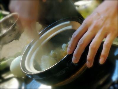 北の贅沢土鍋ごはん、清川バージョン_f0232994_4331232.jpg
