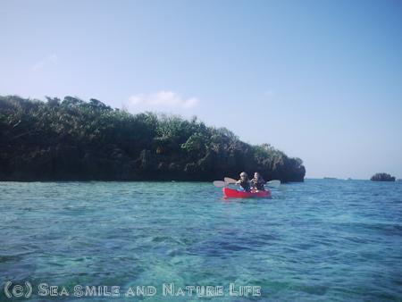無人島にも上陸できる川平湾カヤック☆_a0155606_2245249.jpg
