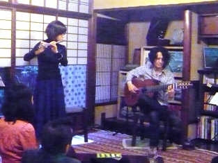 「Irish & Brazilian music live」_e0230141_16214488.jpg