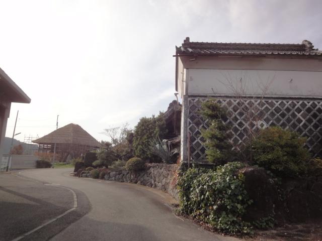 六所の茅ぶき屋根の家_b0124462_6261985.jpg