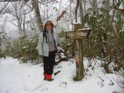 扇ノ山 は雪だった_a0236300_10425592.jpg