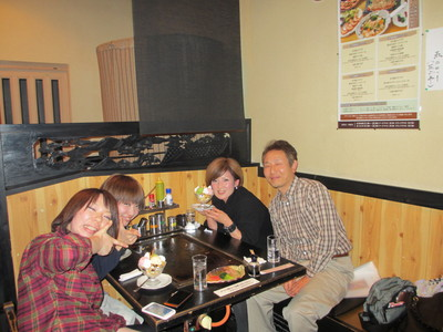 霞さんで食事会_e0150006_13353674.jpg