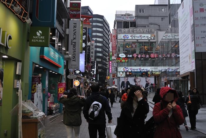 ⑩韓国旅行 2日目 明洞歩き_a0229217_13295637.jpg