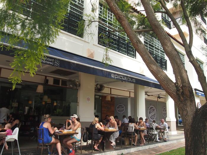 2012 9月 シンガポール (15)  友達とお茶@Cafe Epicurious_f0062122_1415354.jpg