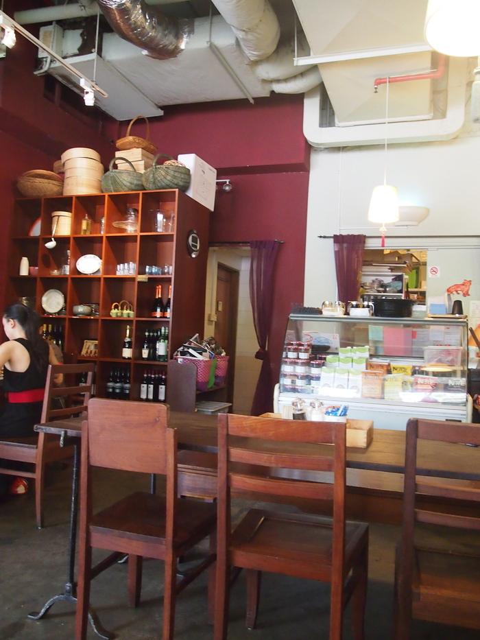 2012 9月 シンガポール (15)  友達とお茶@Cafe Epicurious_f0062122_14163716.jpg