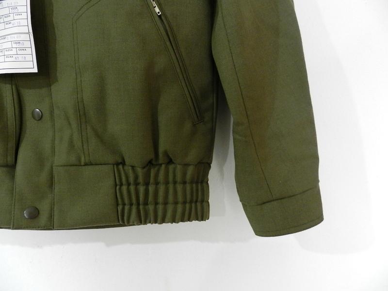 Czech army zip blouson dead stock_f0226051_1274792.jpg