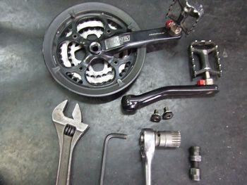 フェルト クロスバイクの整備 _e0140354_14295920.jpg