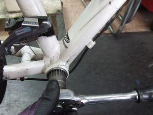 フェルト クロスバイクの整備 _e0140354_14313513.jpg