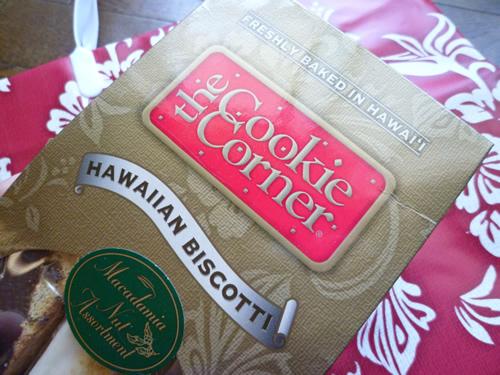 Hawaiian Biscotti@The Cookie Corner_c0152767_21295598.jpg