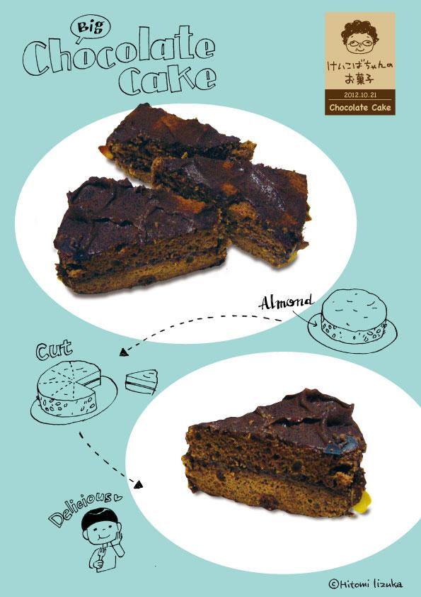 大きなチョコレートケーキ_d0272182_2212283.jpg