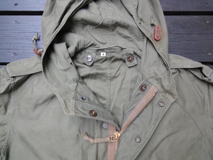 M-51PARKA 初期型の謎 裾の形状など_a0164296_043058.jpg