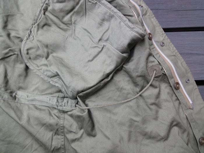 M-51PARKA 初期型の謎 裾の形状など_a0164296_045826.jpg