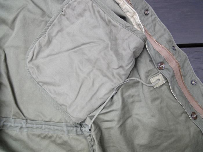 M-51PARKA 初期型の謎 裾の形状など_a0164296_051159.jpg