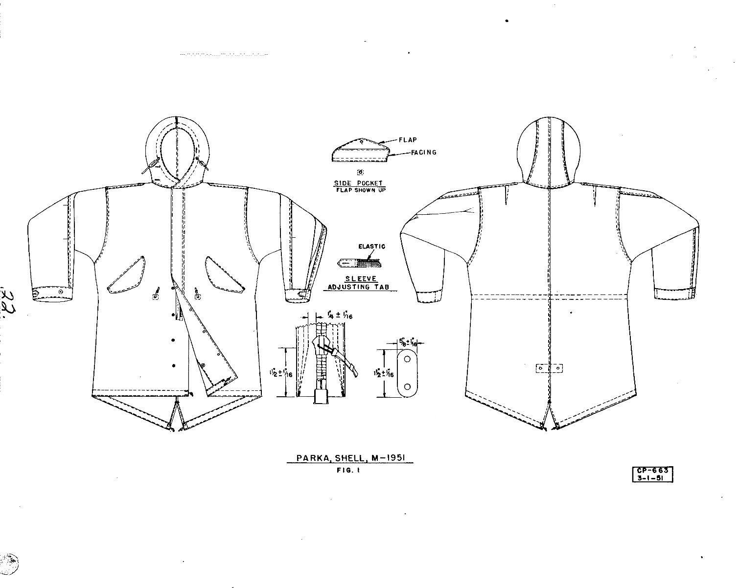 M-51PARKA 初期型の謎 裾の形状など_a0164296_053588.jpg