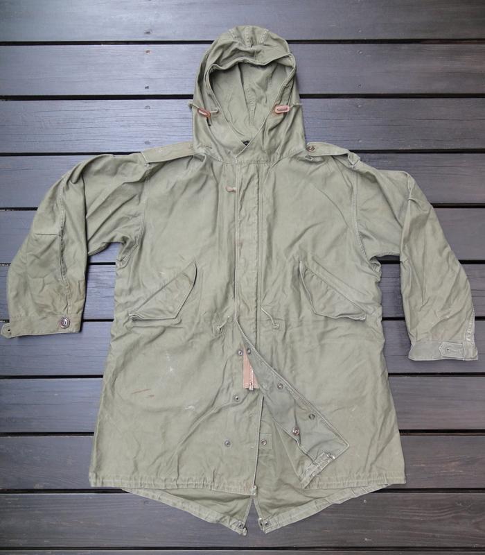 M-51PARKA 初期型の謎 裾の形状など_a0164296_053986.jpg