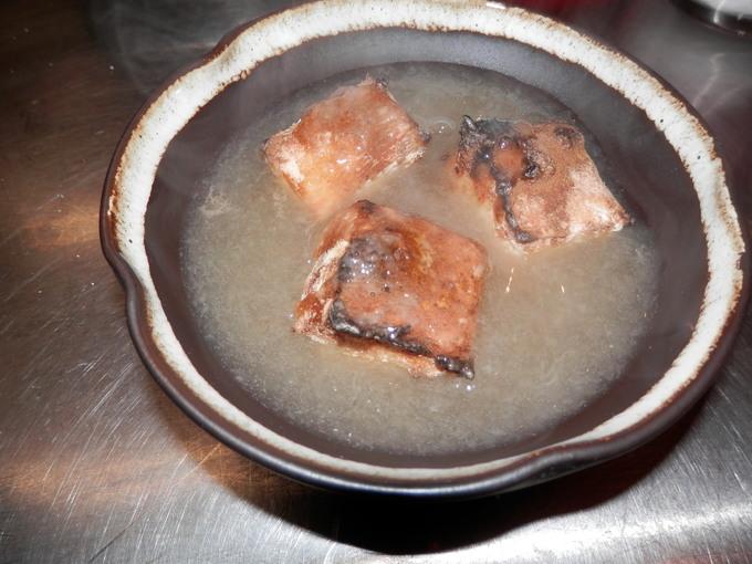 「有機玄米餅の 葛餡かけ」☆_a0125419_9401229.jpg