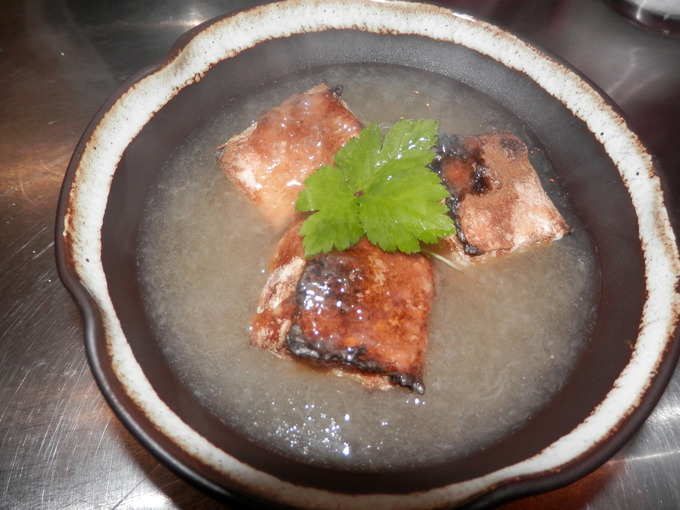 「有機玄米餅の 葛餡かけ」☆_a0125419_9413589.jpg