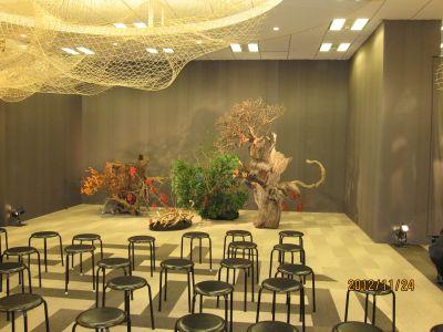 東海東京証券プレミア美術展 いけばな草月LIVE_c0165824_16383850.jpg