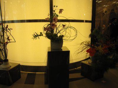 東海東京証券プレミア美術展 いけばな草月LIVE_c0165824_16575888.jpg