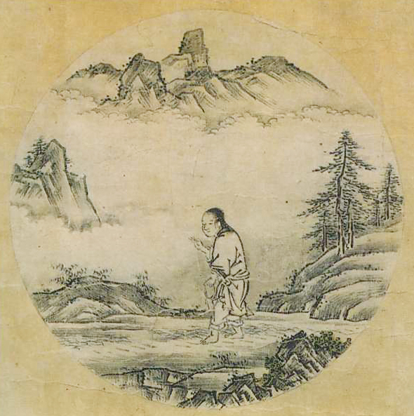 『若冲・応挙の至宝』展の中に『十牛図』(周文筆)が飾られていた。_d0178825_9204878.jpg