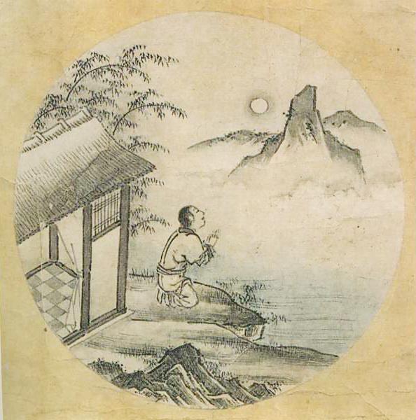 『若冲・応挙の至宝』展の中に『十牛図』(周文筆)が飾られていた。_d0178825_9231679.jpg