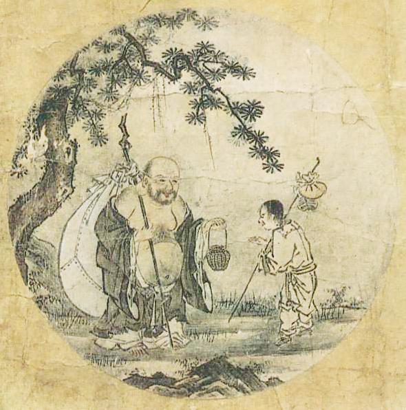 『若冲・応挙の至宝』展の中に『十牛図』(周文筆)が飾られていた。_d0178825_9293918.jpg