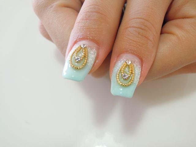 Cinderella Nail_a0239065_14541196.jpg