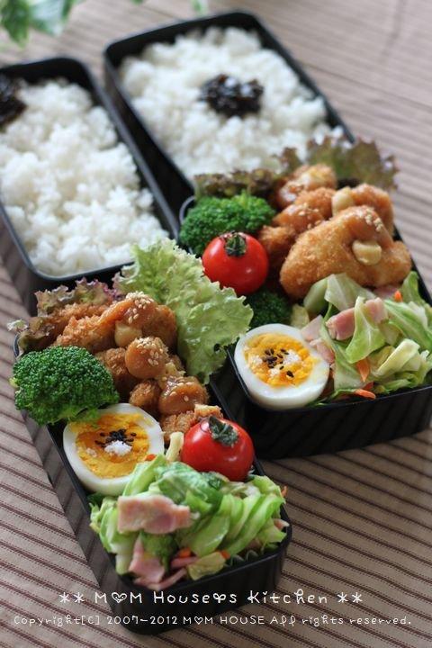 ロハスなひととき ☆ 今日のお弁当と晩ご飯♪_c0139375_13391672.jpg