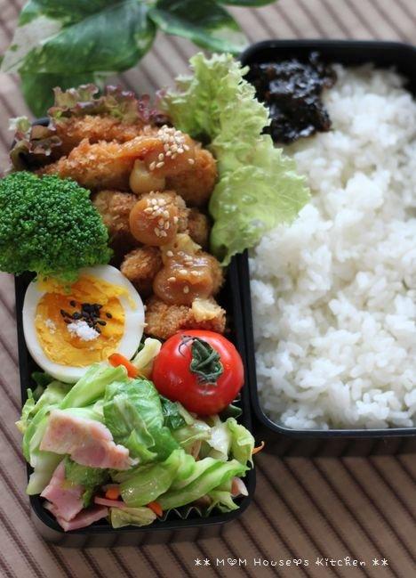 ロハスなひととき ☆ 今日のお弁当と晩ご飯♪_c0139375_13394160.jpg