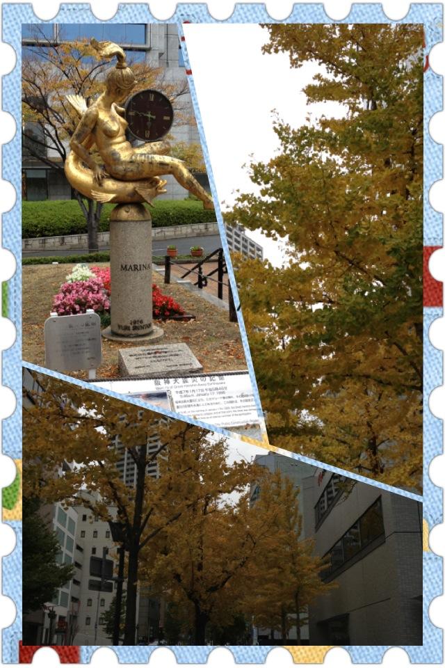神戸マラソン2012 受付の日 と エビアンコーヒー_a0194908_039644.jpg