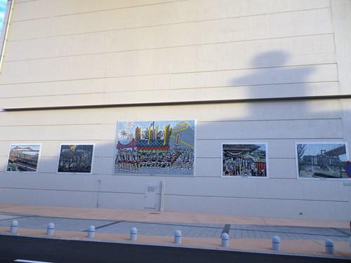若戸大橋「きょうだい」の「きょだい」壁画♪_e0198627_17185758.jpg