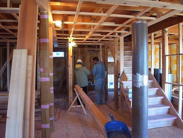 中台の家Ⅱ ハウスジーメン躯体検査 2012/11/27_a0039934_1813364.jpg