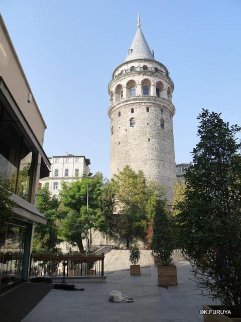 トルコ旅行記 28 イスタンブール ガラタ塔_a0092659_1143290.jpg