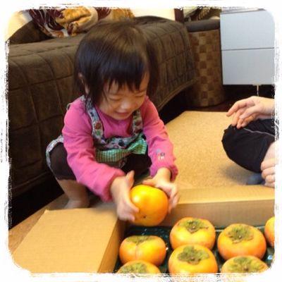 オレンジ色の果物は!?_e0258469_9194484.jpg