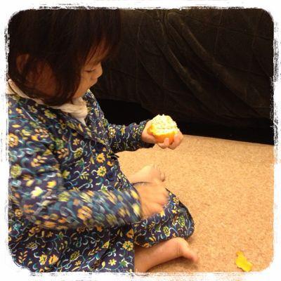 オレンジ色の果物は!?_e0258469_9194714.jpg