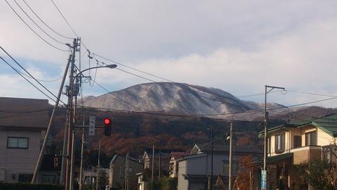ついに初雪。_d0182179_2118094.jpg