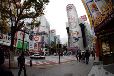 11月28日(水)今日の渋谷109前交差点_b0056983_1612360.jpg