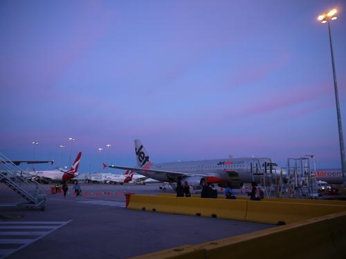 メルボルンへの旅(3)―Jet Star初体験_e0123104_743492.jpg
