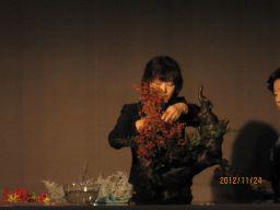 東海東京証券プレミア美術展 いけばな草月LIVE_c0165824_1010920.jpg