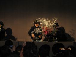東海東京証券プレミア美術展 いけばな草月LIVE_c0165824_1011205.jpg