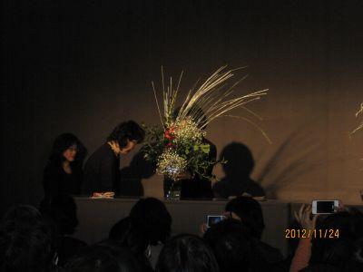 東海東京証券プレミア美術展 いけばな草月LIVE_c0165824_10193225.jpg