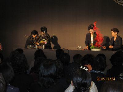 東海東京証券プレミア美術展 いけばな草月LIVE_c0165824_10354395.jpg